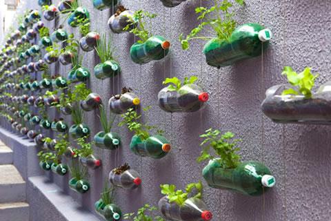 Arte con plástico: bello, ¿pero es una solución?